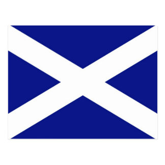 Scottish Flag Postcard