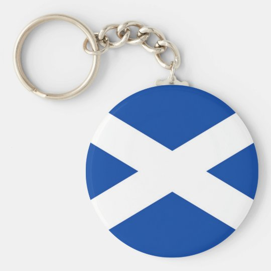 Scottish Flag - Saltire -  Keychain