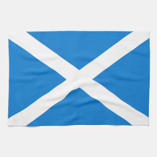 Scottish flag tea towel