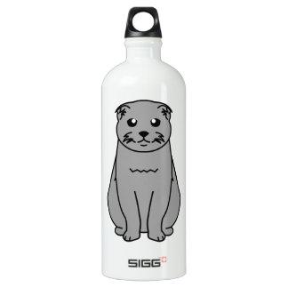 Scottish Fold Cat Cartoon SIGG Traveller 1.0L Water Bottle