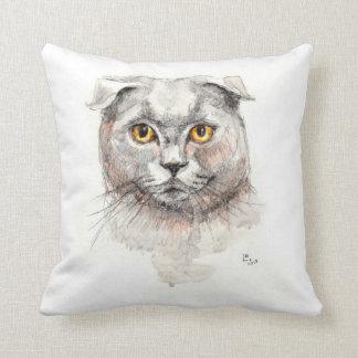 Scottish Fold Cat Cushion