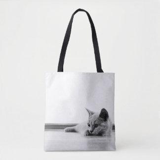 Scottish Fold Cat Kitten Super Cute Tote Bag