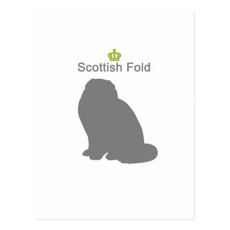 Scottish Fold g5 Postcard