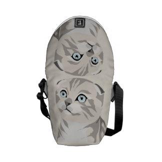 Scottish Fold Kitten Bag Stock market Messenger Bags
