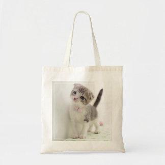 Scottish Fold Kitten Tote Bag