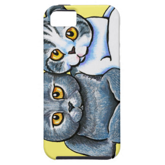 Scottish Fold Pair iPhone 5 Case