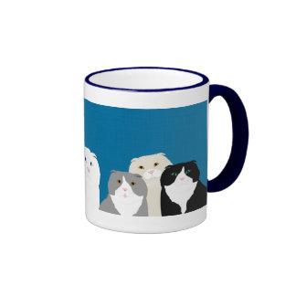 Scottish Fold Ringer Mug