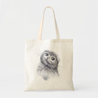 Scottish Fold Smile Tote Bag