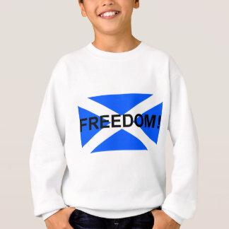 Scottish freedom saltire sweatshirt