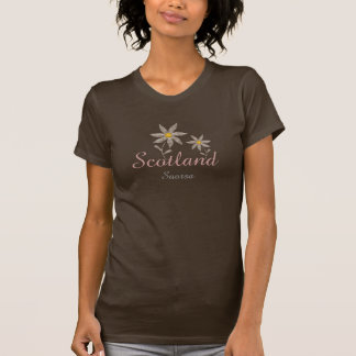 Scottish Gaelic Saorsa Freedom Tartan Flower Tee
