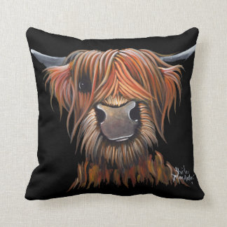 Scottish Hairy Highland Cow 'BRUCE' Cushion Pillow