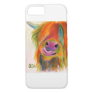 Scottish Hairy Highland Cow Iphone Galaxy Case