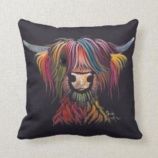 Scottish Hairy Highland Cow ' OLIVER ' Cushion