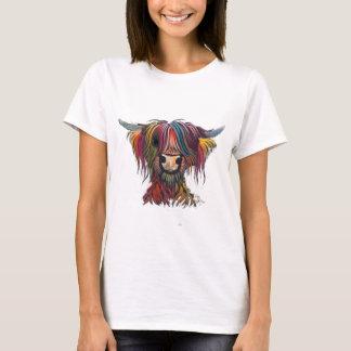 Scottish Hairy Highland Cow ' OLIVER ' T-Shirt