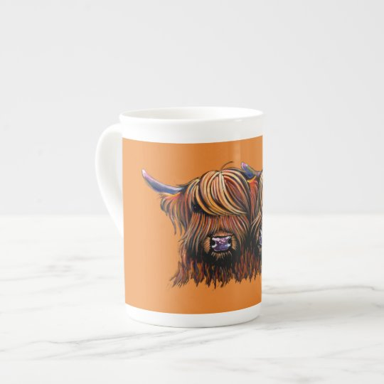Scottish Hairy Highland Cows ' PALS ' Tea