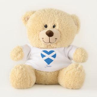 SCOTTISH HEART TEDDY BEAR