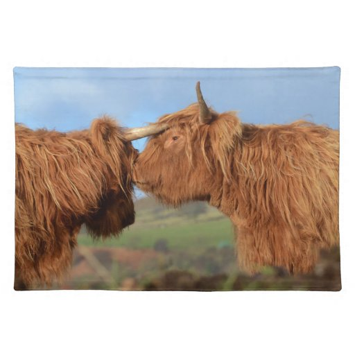 Scottish Highland Cattle Placemat