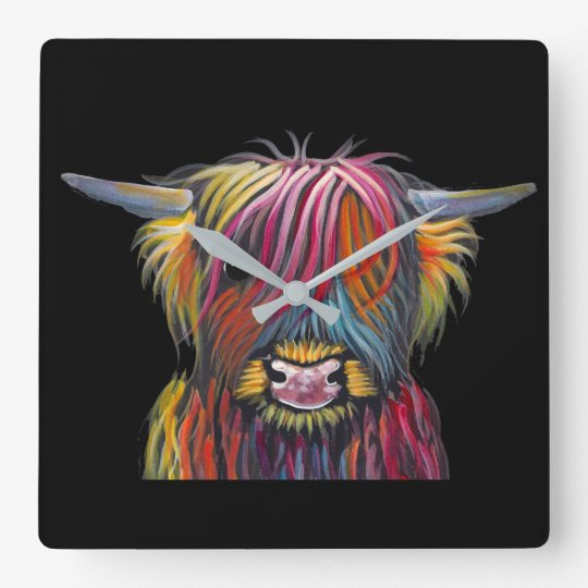 Scottish Highland Cow ' BRaVEHEaRT 2' by Shirley