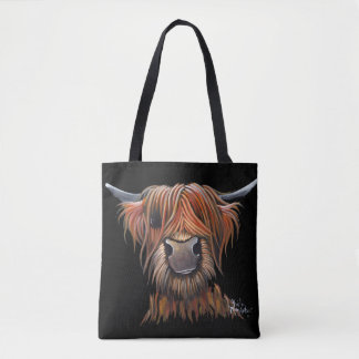 Scottish Highland Cow 'BRUCE' Bag