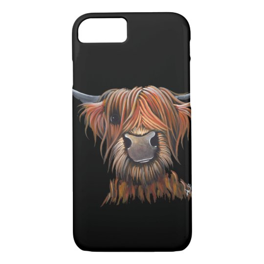 Scottish Highland Cow 'BRUCE' Iphone Galaxy iPhone 8/7