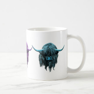 Scottish Highland Cow Coffee Mug