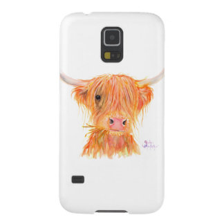 Scottish Highland Cow 'Fergus' for Samsung Cases