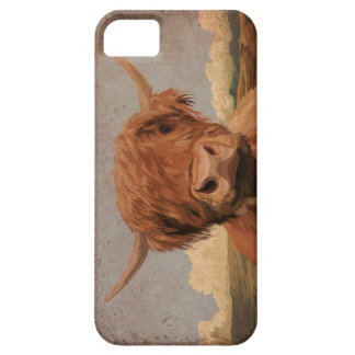 Scottish highland cow iPhone 5 case