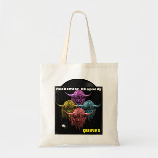 Scottish Highland Cow. Moohemian Rhapsody Tote Bag