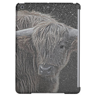 Scottish Highland cow photograph case