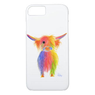 Scottish Highland Cow TOTTIE Iphone Case