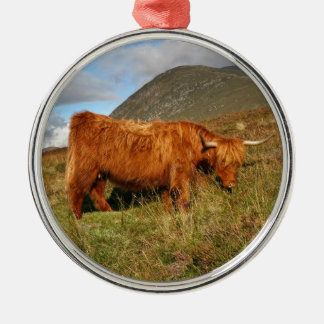 Scottish Highland Cows - Scotland Christmas Ornament