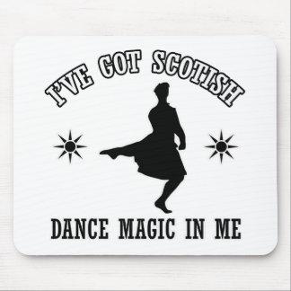 Scottish highland dance Designs Mouse Pad