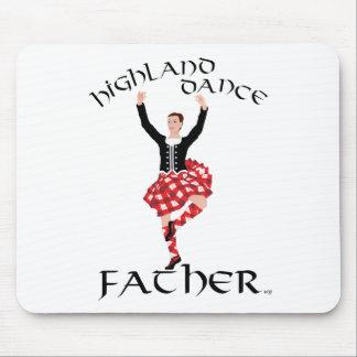 Scottish Highland Dance Father Mouse Pad