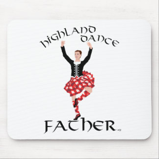 Scottish Highland Dance Father Mouse Pads