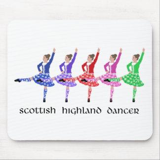Scottish Highland Dance Line Mouse Mat