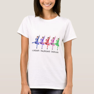 Scottish Highland Dance Line T-Shirt
