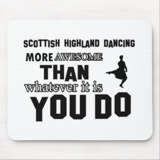 scottish highland dance more awesome than whatever mouse pad