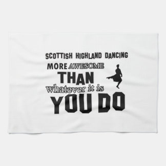 scottish highland dance more awesome than whatever tea towel