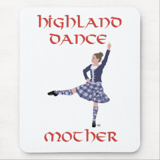 Scottish Highland Dance Mother Mouse Pads