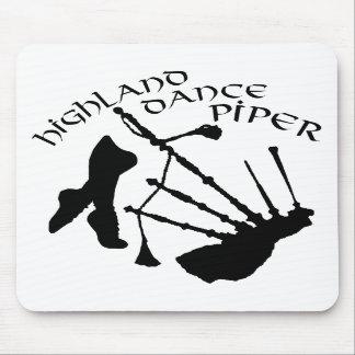 Scottish Highland Dance Piper Mousepads