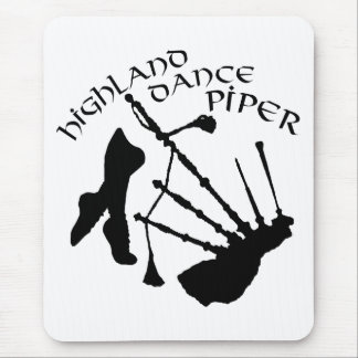 Scottish Highland Dance Piper Mouse Pad