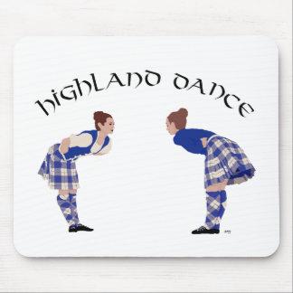 Scottish Highland Dance Reel Mouse Pads
