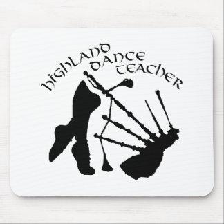 Scottish Highland Dance Teacher Mouse Pad
