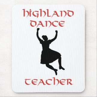 Scottish Highland Dance Teacher Mousepads