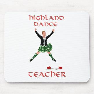 Scottish Highland Dance Teacher Mouse Pads