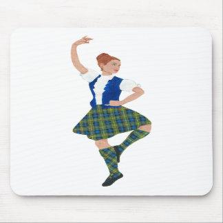 Scottish Highland Dancer MacLaren Tartan Mousepads