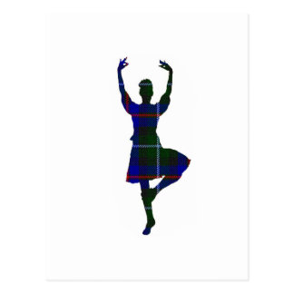 Scottish Highland Dancer Postcard