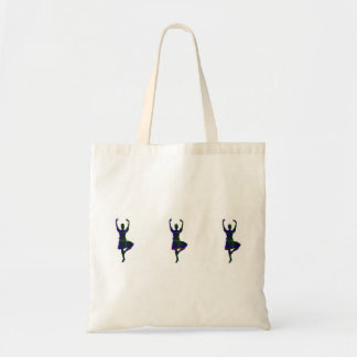 Scottish Highland Dancers Budget Tote Bag