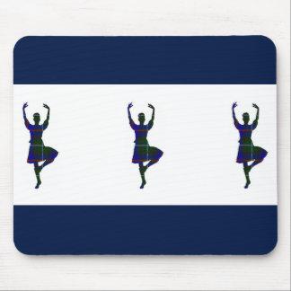 Scottish Highland Dancers Mouse Pad