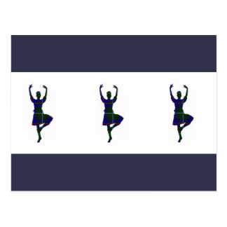 Scottish Highland Dancers Postcard